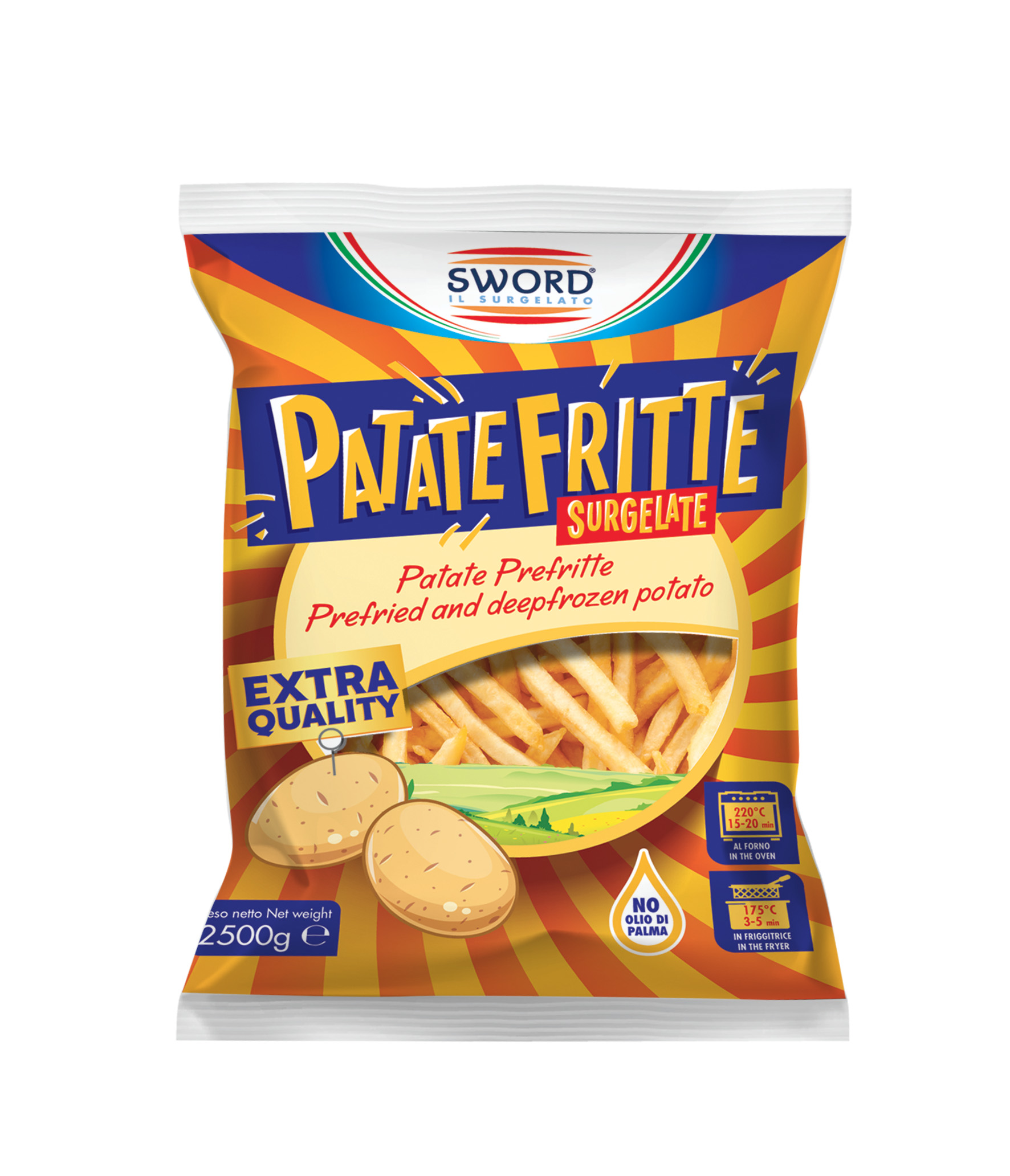 Patate fritte extra quality