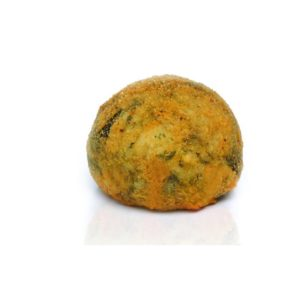 Arancino con spinaci vegetariano 3
