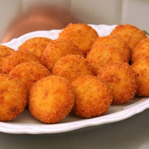 Polpette patate e baccalà